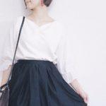 【レディースファッション】白ブラウスで秋の着回し7daysコーディネート