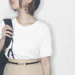ユニクロのワッフルクルーネックTが可愛すぎる!夏の半袖カットソーが欲しい方におすすめ